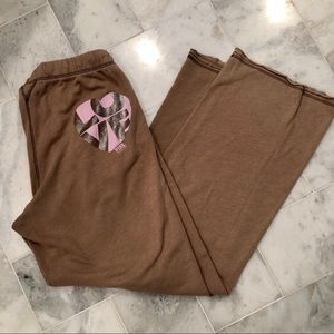 💜VS Pink sweat pants- RARE!